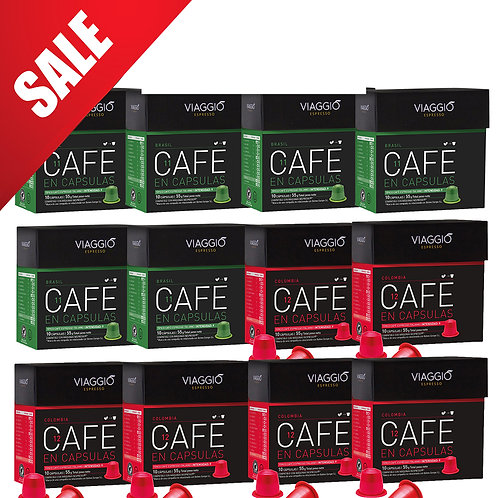 【Mega Sales】Mix Origins | Coffee Capsules Pack(120 capsules) VEpackage-05