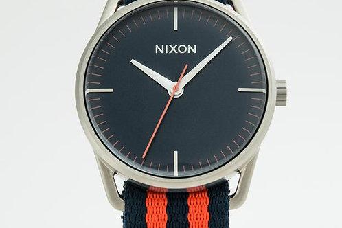 Nixon   The Mellor Blue/Textile Watch