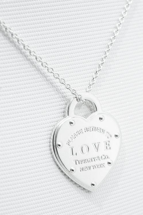 TIFFANY & Co. |  Return to Tiffany Love Pendant