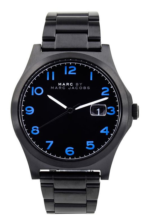 Marc by Marc Jacob | Black Dial Stainless Steel Men's Watch