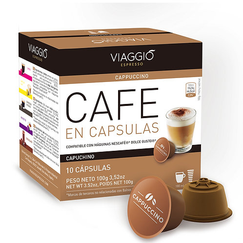 05. Cappuccino | 10 Coffee Capsule Compatible with Dolce Gusto®
