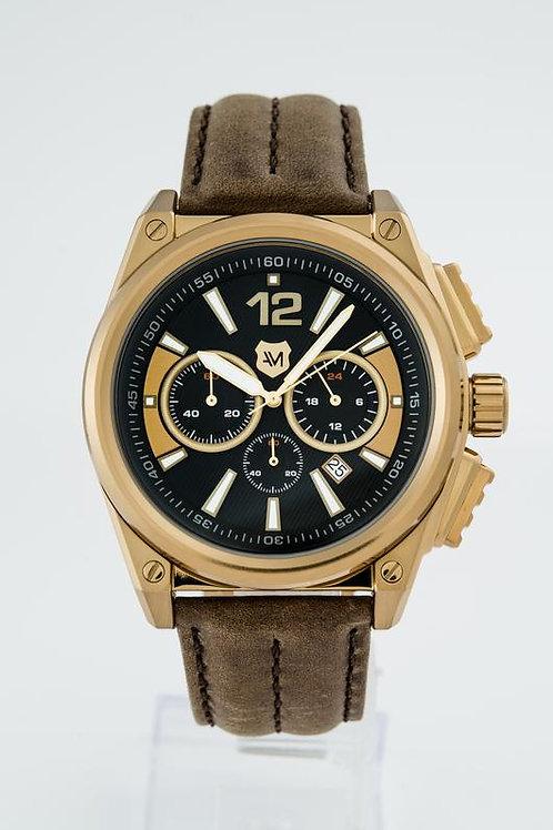 ANDREW MARC   Men's G III Racer 3 Hand Chronograph Watch
