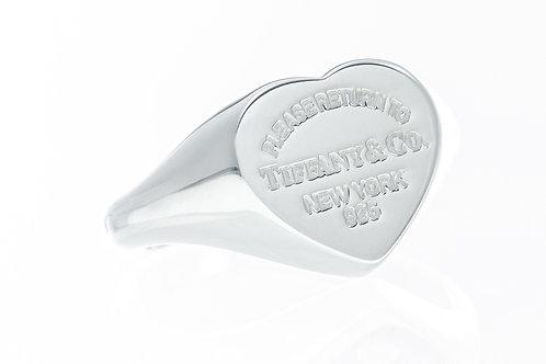 TIFFANY & Co. |  Return to Tiffany Heart Signet Ring