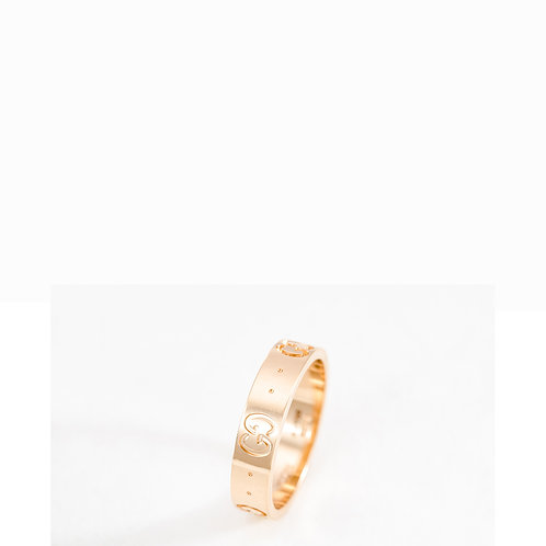 GUCCI   G ring in Rose Gold