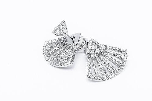 APM Monaco. | FLAMENCO Silver Stud Earrings