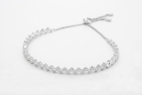 APM Monaco. | UP AND DOWN Silver Up And Down Bracelet