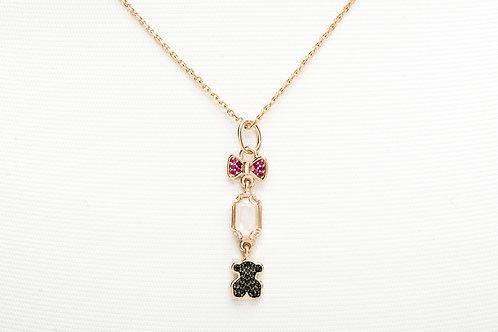 TOUS | Rose Vermeil Silver Join Necklace