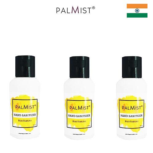 PALMIST - 免洗80%酒精搓手液50ml Brace香味 3枝裝