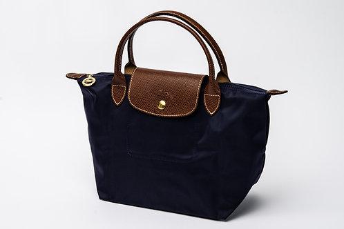 LONGCHAMP   Le Pliage Short Handle Bag Navy (Small)