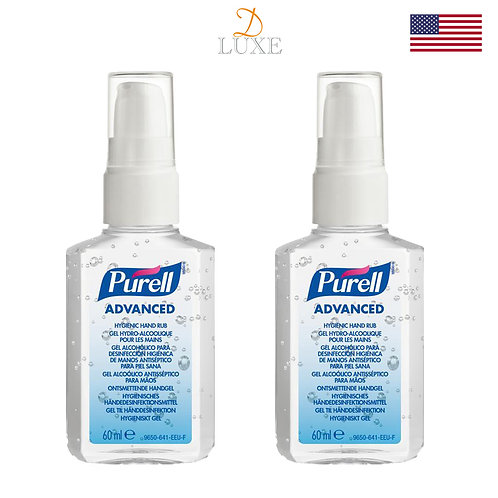 Purell Advanced Hand Sanitizer (60ml) x 2 bottles