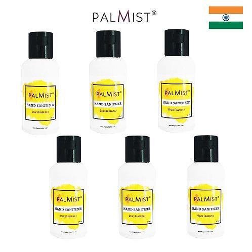 PALMIST - 免洗80%酒精搓手液50ml Brace香味 6枝裝
