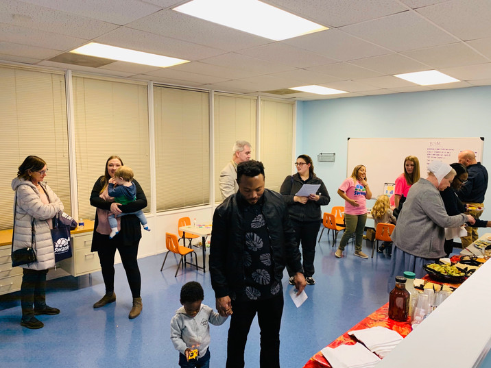 Parents and kids explore the Clinic and learn about ABA and support services for Autism and other developmental delays.