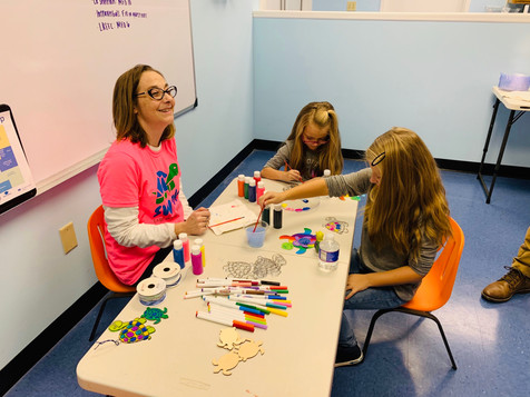 Learning through turtle themed crafts