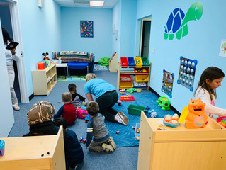Our fun Play area and Reading Nook