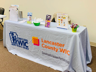 Lancaster County WIC joined us for the event!