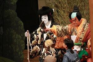 いずみ歌舞伎に出演