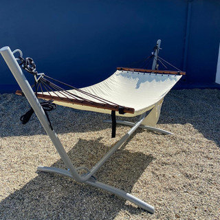 Relax in The Oyster's hammock