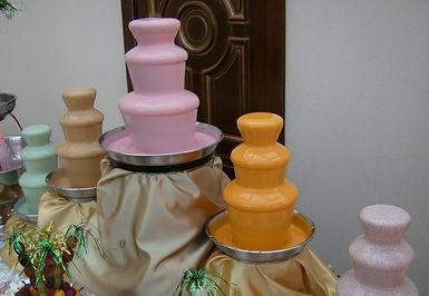 заказать цветной шоколад для фонтана в Перми, желтый зеленый розовый и синий шоколад в Перми купить