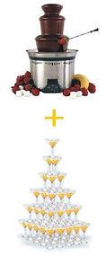скидка на шоколадный фонтан,скидка на пирамиду шампанского в перми, пирамида шампанского  со скидкой, купить шоколадный фонтан со скидкой на свадьбу в перми аренда