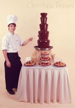 Шоколадный фонтан 100 см