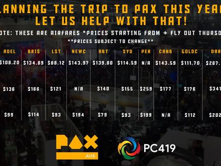 Considering attending PAX 2018?