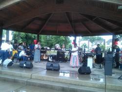 Culto Evangelistico en el Parque