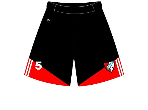 Game Shorts Black/Red