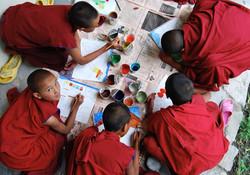 Young Nuns, Timosgang, Ladakh