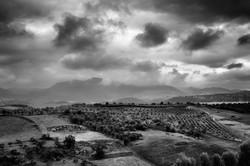 Storm in Ronda, Spain