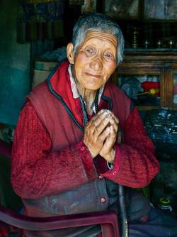 Tibetan Refugee in Ladakh