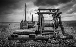 Winch and Boat