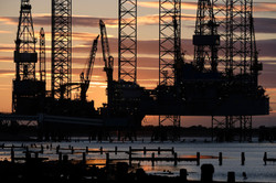 Oil Rig at Sheerness