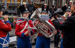 Young marching band,Bruges. 2019