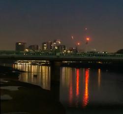 Putney Bridge at night