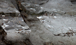 Frozen Stream Lofoten
