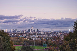 A view of London from Parliament Hill