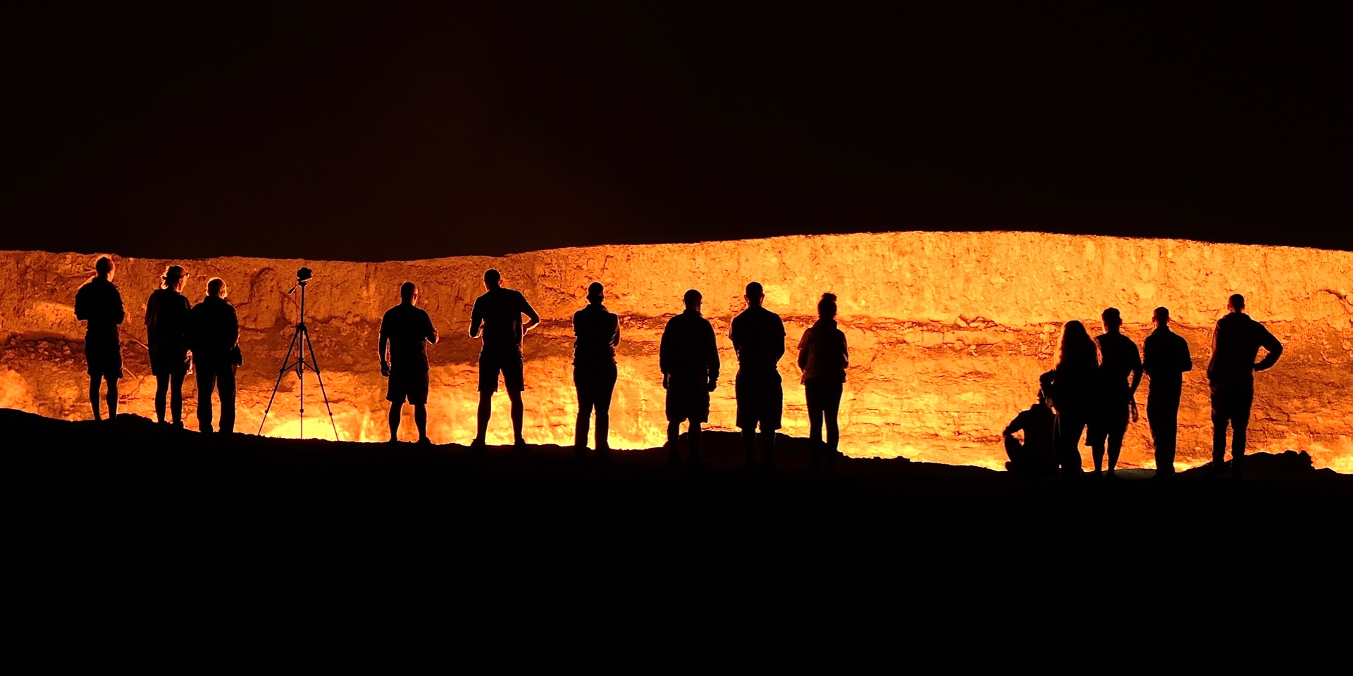 The Gates of Hell, Darvaza Crater, Turkm