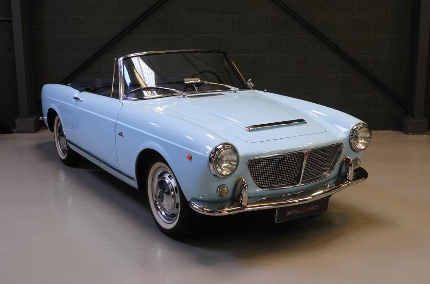 Fiat 1200 Spider pininfarina 1961