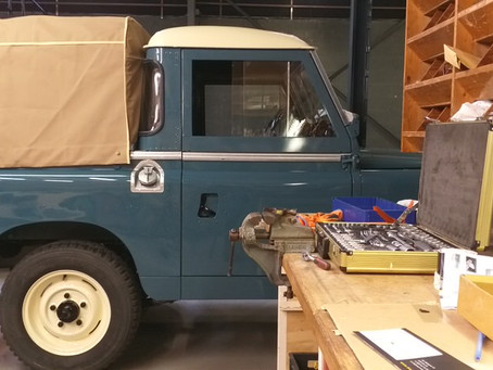 Land Rover Series gets the finishing touch