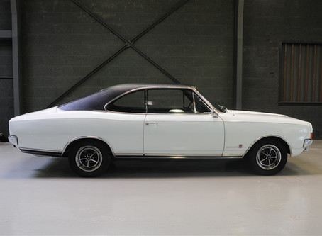 A good thing about 1967: The Opel Commodore GS Coupe