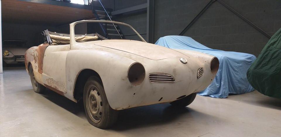 VW Karmann Ghia Project