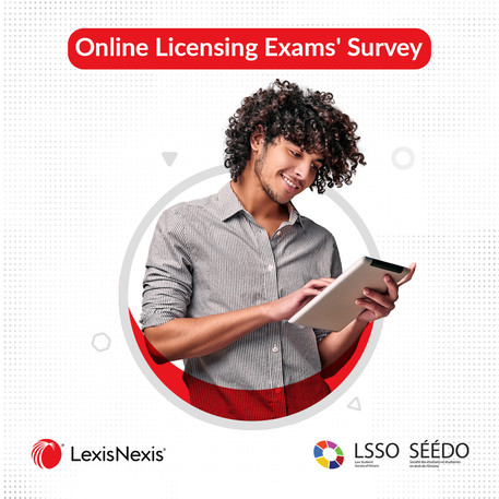 Did you write an online licensing exam in the past year? We want to hear from you!