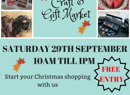 New Event: The Craft & Gift Market