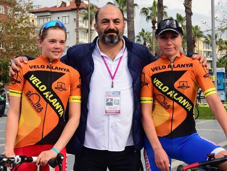 Ольга Забелинская победительница веломногодневки Tour of Eftalia Hotels & Velo Alanya