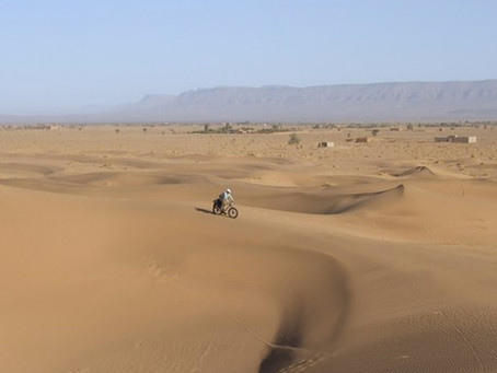 Команда АдВитаНорд отправляется в Сахару