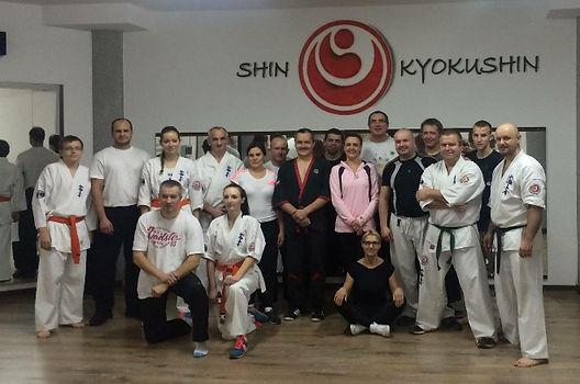 Wspólny trening z Sekcją karate w Szydłowcu