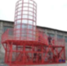"""Open mobile Wind tunnel """"Free Flight"""" 2.5"""