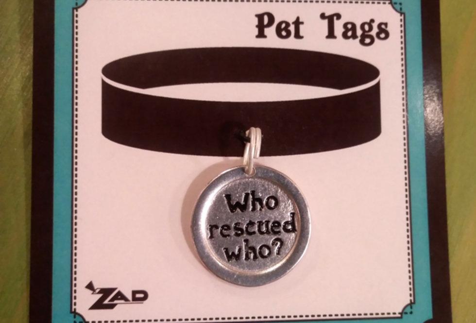 Pet Collar Tags