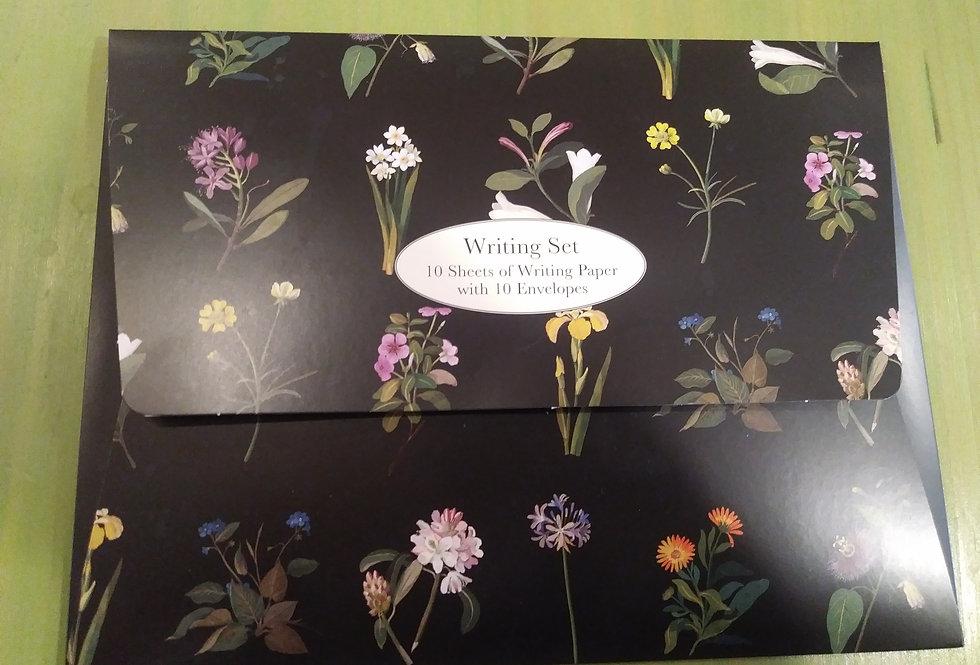 Delany Flowers Writing Set