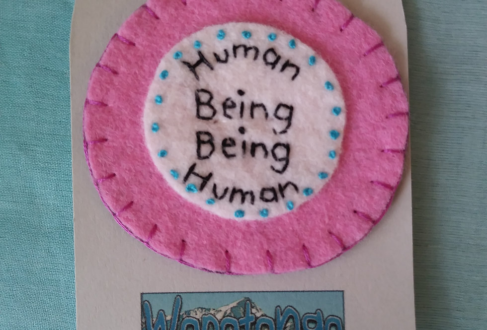 Human Being Being Human - Badge Of Honor